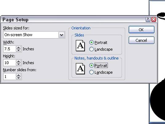 Change the size of powerpoint 2007 slides dummies toneelgroepblik Choice Image