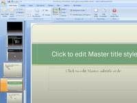 How to apply a powerpoint 2007 template to an existing 810 toneelgroepblik Gallery