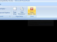 How to apply a powerpoint 2007 template to an existing 1010 toneelgroepblik Images