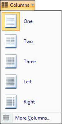 how to make columns in word mac