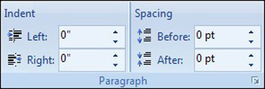 how to set hanging indent in word