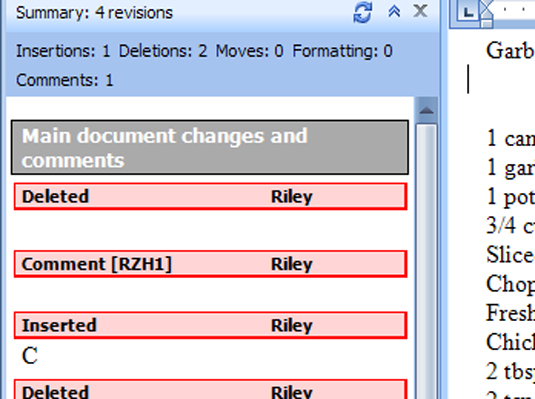 how to add comments in word 2007