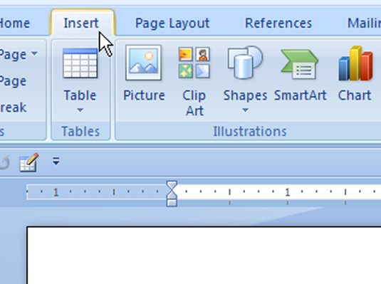 how to delete page word 2007