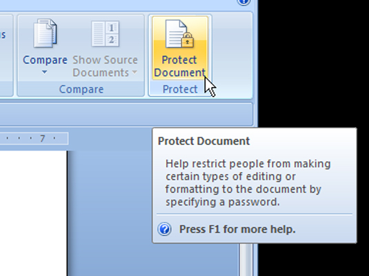 document protect