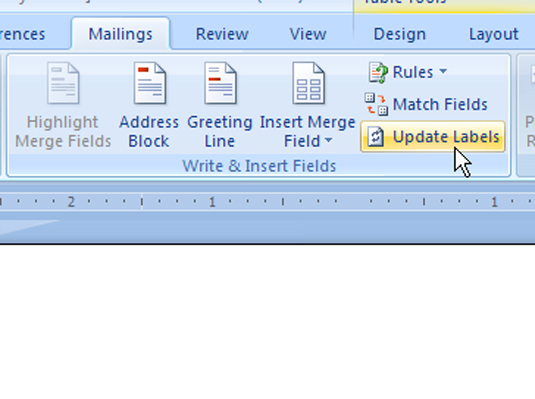 how to add image to label in word