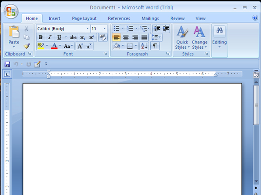 how to write an outline in word 2007