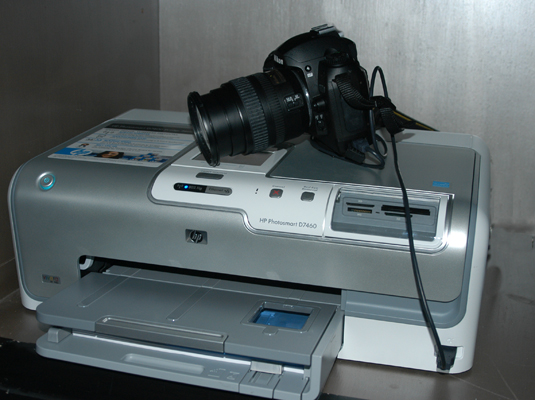 You can connect your digital camera directly to a PictBridge-enabled printer.