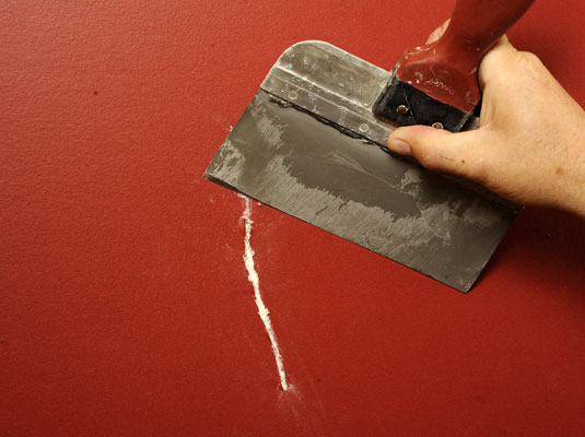How To Fix Large Cracks In Drywall Dummies