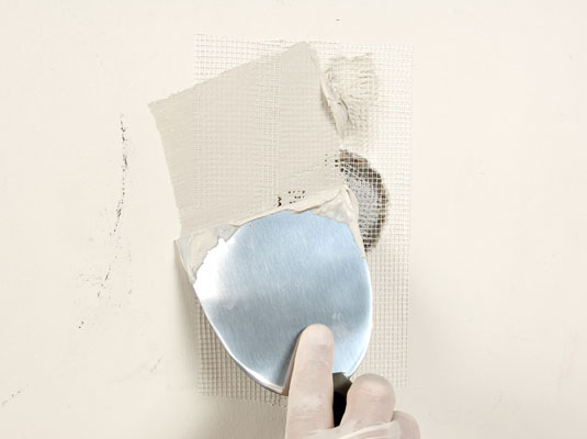 How To Fix Small Holes In Drywall With A Patch Dummies