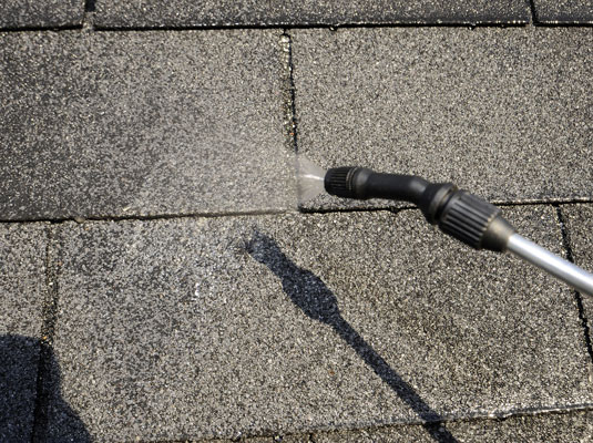 Keep The Roof Section Wet Until You Finish Scrubbing.