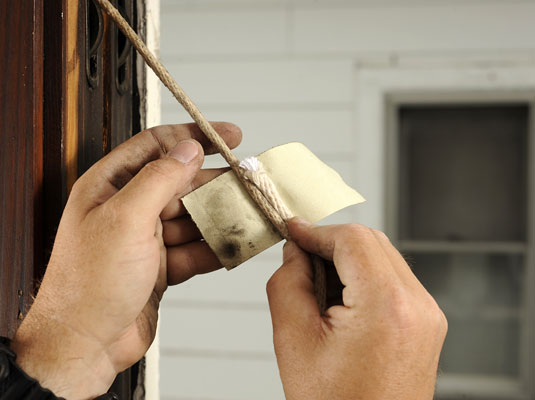 how to repair or replace window sash cords