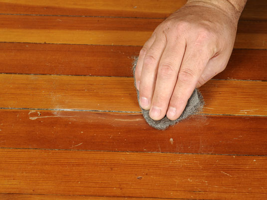 how to fix scratches in hardwood floors - dummies