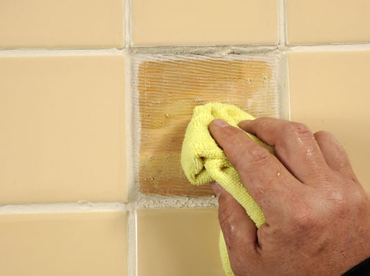 How to repair floor tile