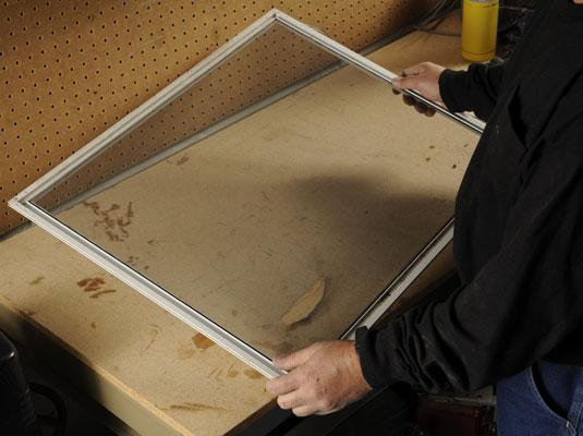 How To Replace A Fiberglass Screen On A Screen Door Dummies