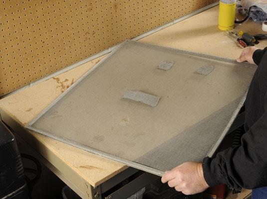 How To Replace An Aluminum Screen On A Screen Door Dummies