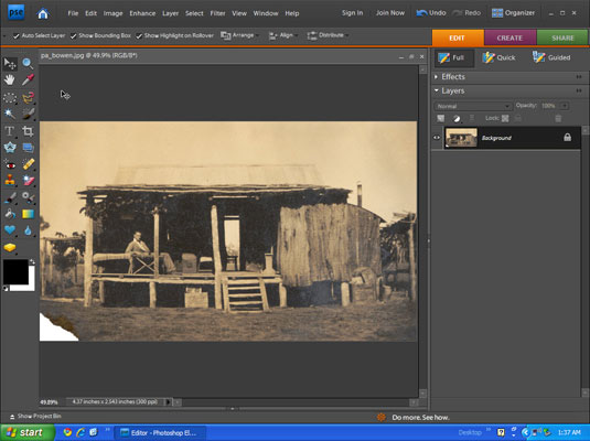 Repairing Vintage Photos in Your Image-Editing Software