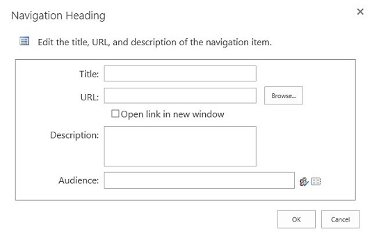 new heading sharepoint