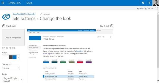 change settings sharepoint