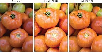 flash exposure compensation