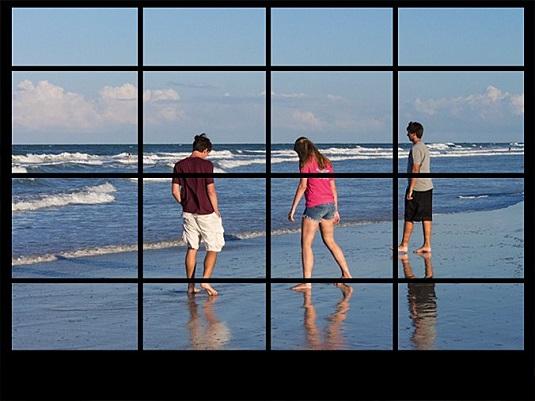 viewfinder grid