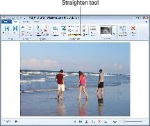 straightening tool