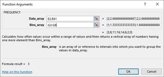 Approximately Simulating The Central Limit Theorem In Excel Dummies. Frequency Holds This Array In The Binsarray Box For Worksheet G2g8 Goes Into After You Identify Both Arrays Function. Worksheet. Worksheetfunction Stdev Range At Clickcart.co