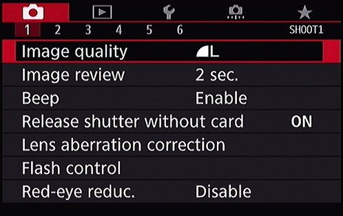 Decoding The Image Quality Options On Your Canon Eos 80d