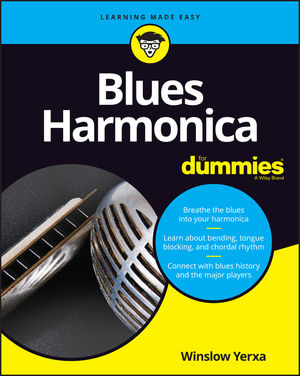 9781119694519 Blues Harmonica For Dummies Cover
