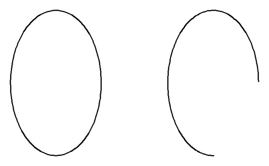 AutoCAD ellipse