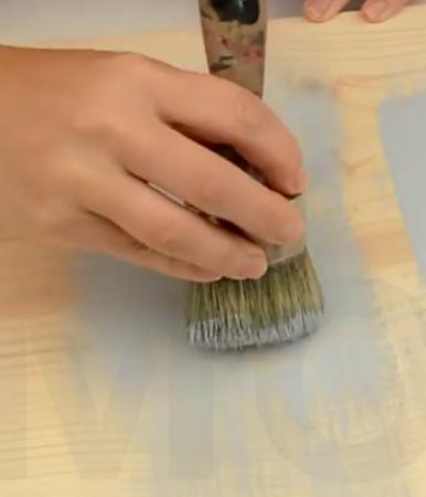 Chalk Paint_Dry Brushing