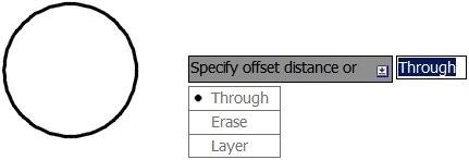 Dynamic Input menu