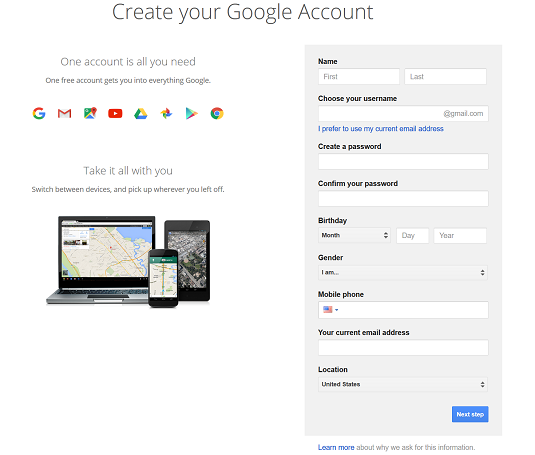 How To Create A Gmail Account Dummies
