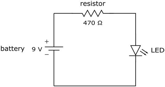 what is an electronic schematic