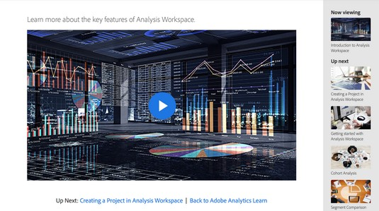 Adobe Analytics video tutorials