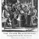 American Revolutionary political cartoon