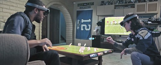 future of football and AR from Microsoft
