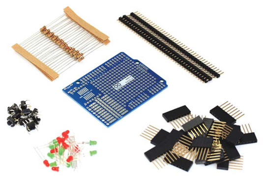 Arduino shield componnts