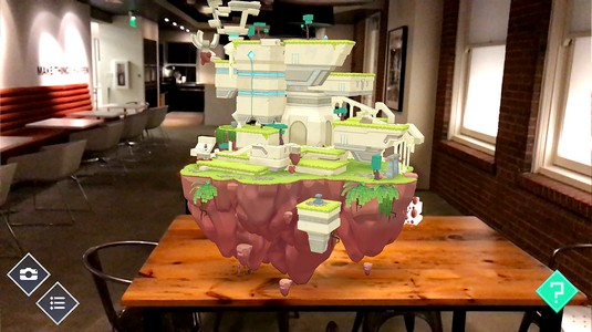 ARise game augmented reality