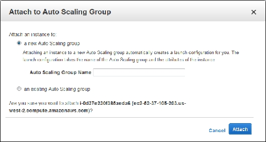 Auto Scaling Group AWS