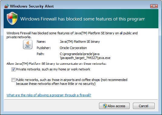 firewall access AWS