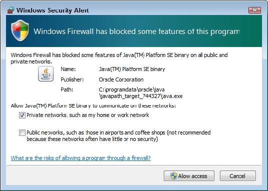 firewall access AWS