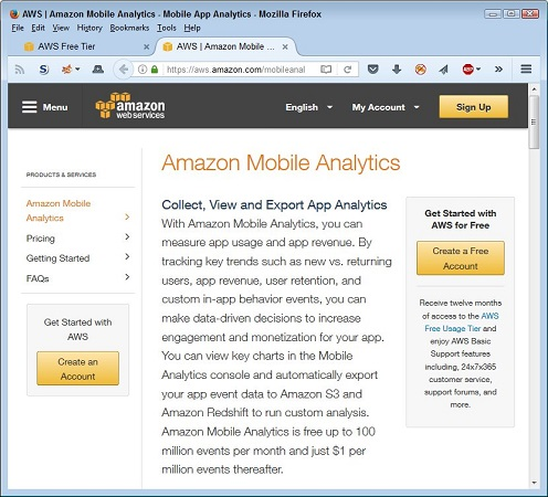 AWS paid services, free software
