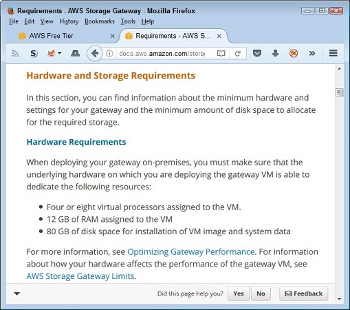 Planning for AWS resources
