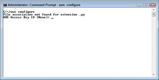 AWS pubic key