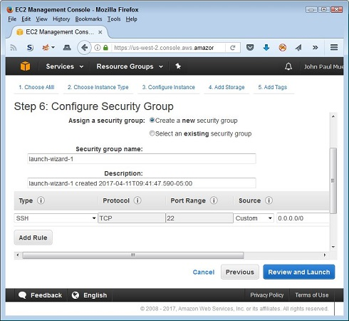 security group for EC2 AWS