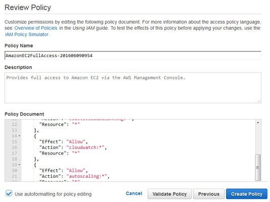 aws-review-policy