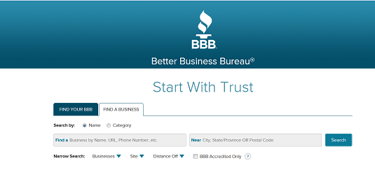 How To Check A Business At The Better Business Bureau Bbb Dummies