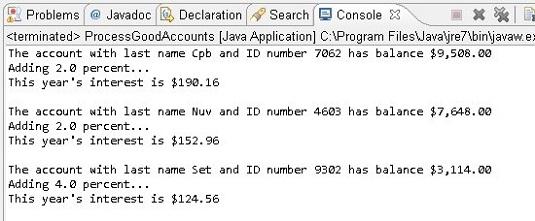 running Java code