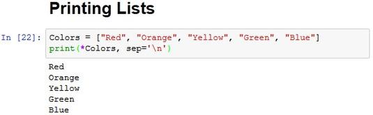 Python splat operator