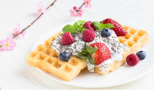 chia waffle